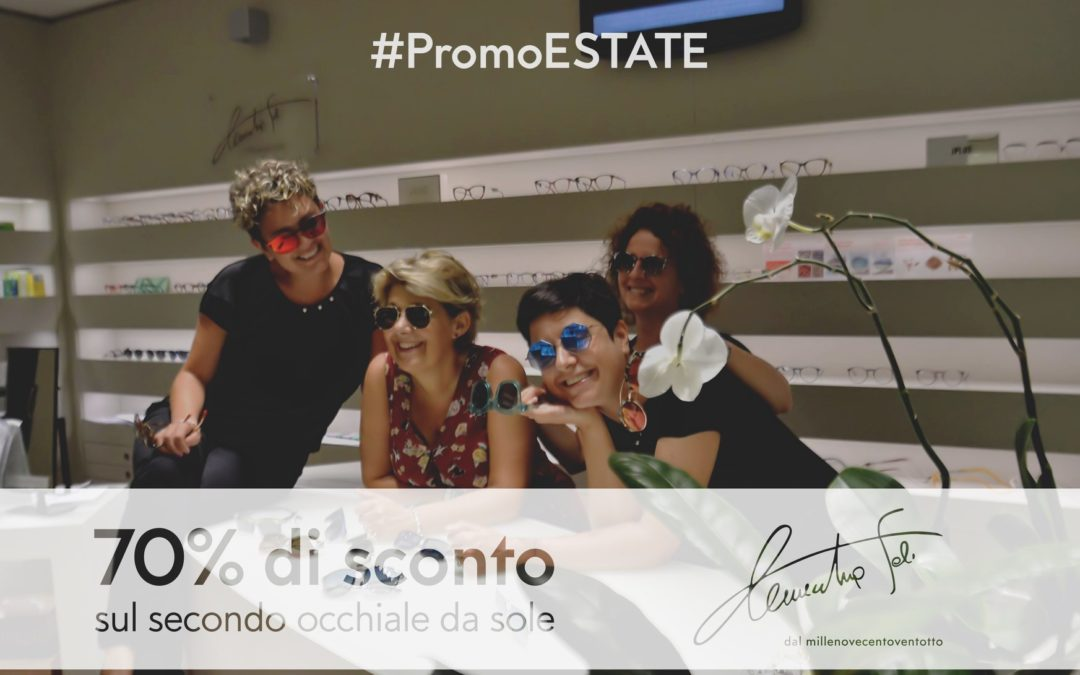 Promo Estate: Occhiali da Sole