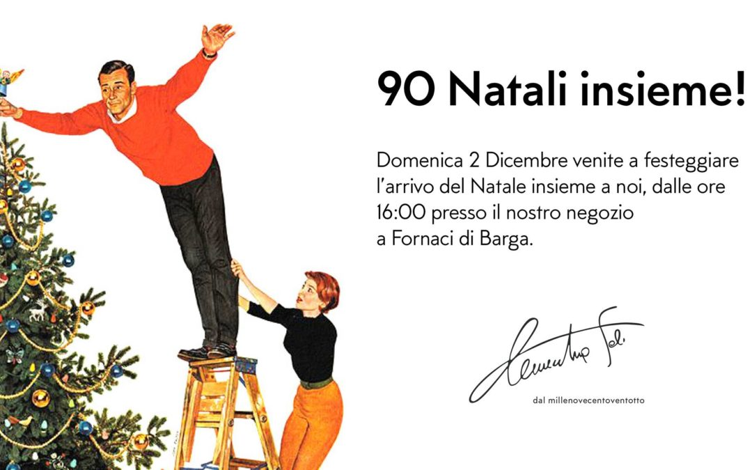 90 Natali insieme